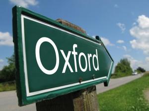 Inglese a Oxford, vicino Londra