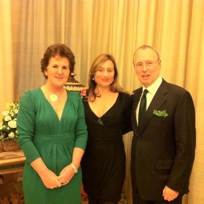 Holidays Empire all'evento per St Patrick organizzato dall'Ambasciata d'Irlanda
