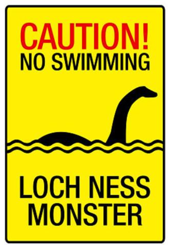 Leggendario mostro di Loch Ness Scozia