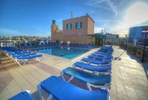 Hotel a Malta con piscina