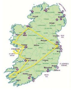 Tour organizzato nell'Irlanda dell'Ovest: l'itinerario in pullman