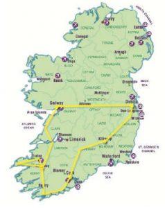 Irlanda del sud: l'itinerario del nostro tour in pullman