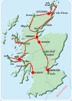 itinerario 9 giorni Scozia