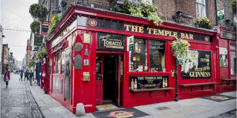Il famoso pub di Dublino: il Temple Bar