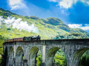 Gita panoramica in treno in Scozia